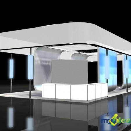 Portfolio booth