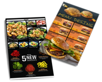 menu desing